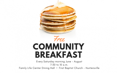 Community Breakfast Cultivates Community this Summer